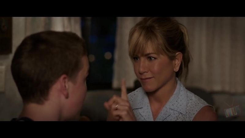 Роуз и Кейси учат Кенни целоваться - Мы – Миллеры (2013) - Момент из фильма