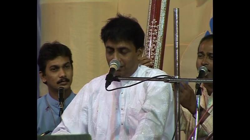 2006 1021 Evening Program Diwali Puja Vocal Concert Ajit Kadkade Pune India