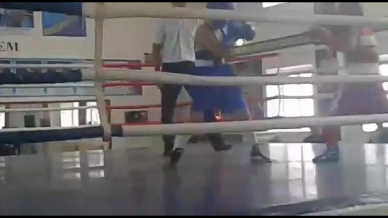 Абдулхамид 2-3 раунд синяя форма.
