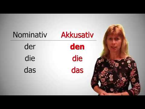 Deutsch lernen 3 - Akkusativ (Fragewörter Wen/Was)