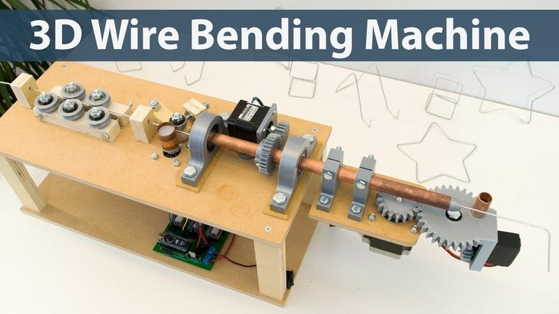 Arduino 3D Wire Bending Machine