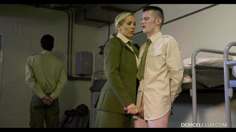 Big Boobs In Army (1080) dp double penetration group uniform униформа костюм cosplay
