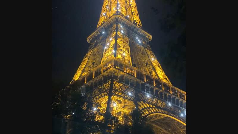 Та самая башня ночью 😍