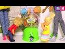 Валерка и автомат с конфетами.Веселая школа кукол. Мультики про школу куклы Барби новые серии