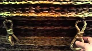 Плетёный сундук Мокко 2