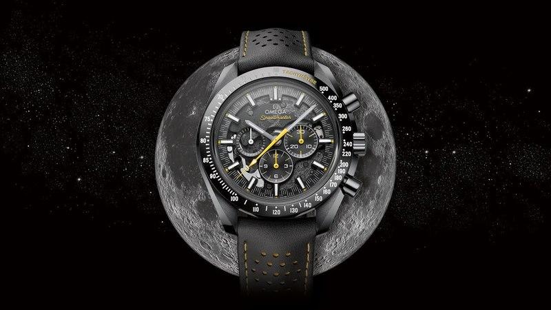 "OMEGA Speedmaster Dark Side of the Moon ""Apollo 8 - Baselworld 2018"