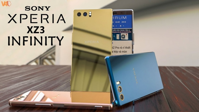 Sony Xperia XZ3 INFINITY Specifications, First Look, Features, Camera, Design, Concept, Introduction