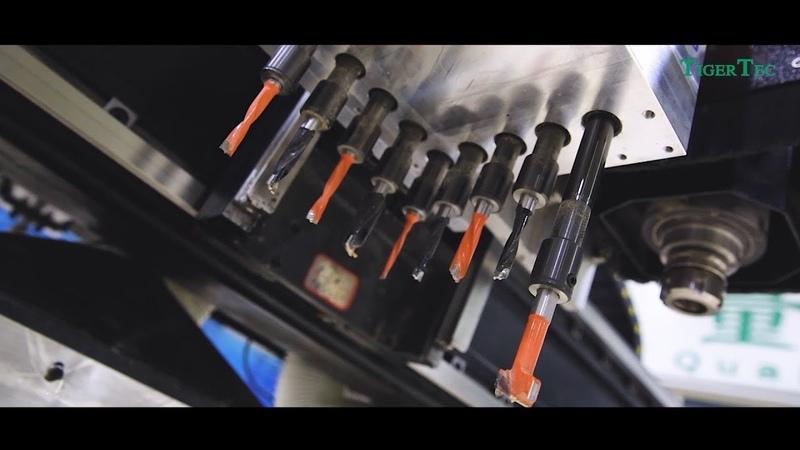 Обзор: Станок TigerTec TZ для производства корпусной мебели