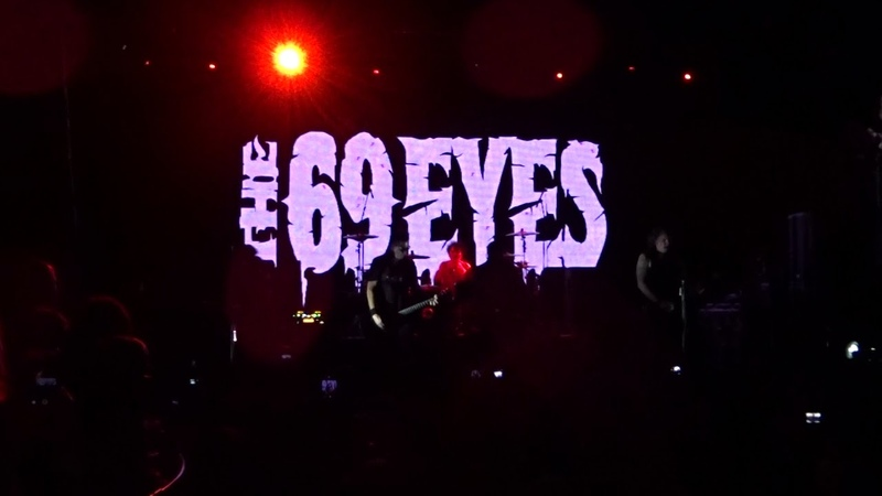 The 69 Eyes - Wasting The Dawn (Live at St. Petersburg 16.11.2018 - AURORA CONCERT HALL)