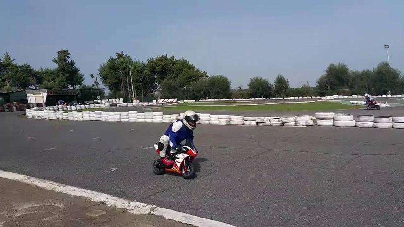 Allenamento a torricola minimoto Dm Bzm pocket bike