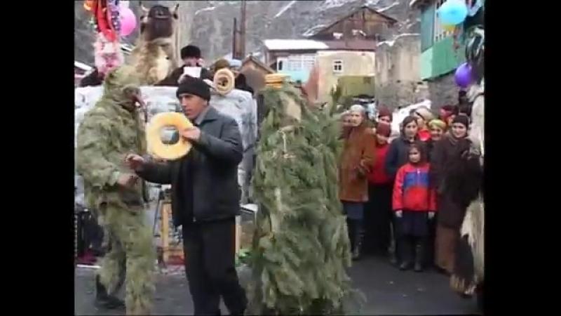 Зимний обрядовый праздник Игбив c. Шаитли Цунтинского района