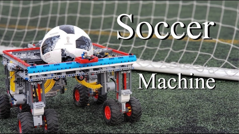 Lego Soccer Machine for FIFA 2018