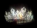 Свадебная женская полноразмерная корона 5 см