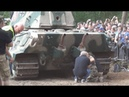King Tiger Engine BACKFIRES While Starting and Roars Militracks 2018 Overloon