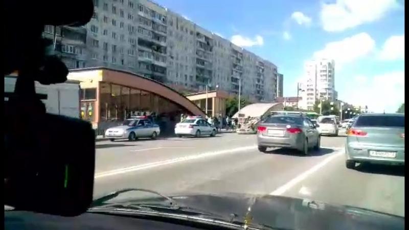 Перевёртыш на улице Республики