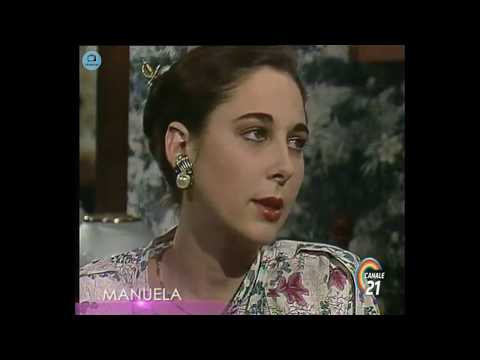 🎭 Сериал Мануэла 217 серия, 1991 год, Гресия Кольминарес, Хорхе Мартинес.