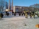 показательные выступления разведроты 98 десантной дивизии. В Коврове