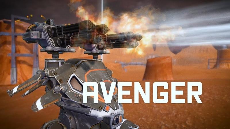 War Robots AVENGER 🔥 punish them heavily   WR NEW WEAPON update 4.0