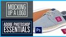 How to bend a logo onto an image realistically Photoshop CC Essentials 47 86