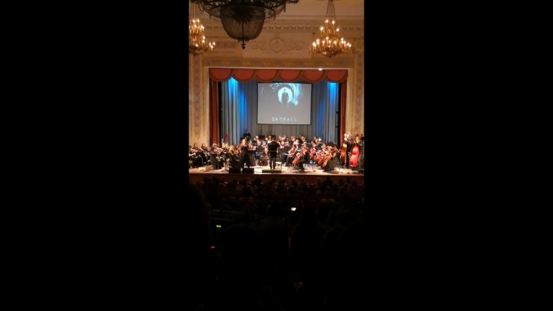 Анастасия Субчева, группа Пуаре, симфонический оркестр Классика под руководством Адика Абдурахманова Skyfall (Adele cover)