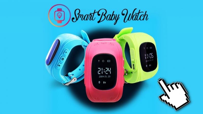 Smart BAby Watch Детские смарт часы с GPS