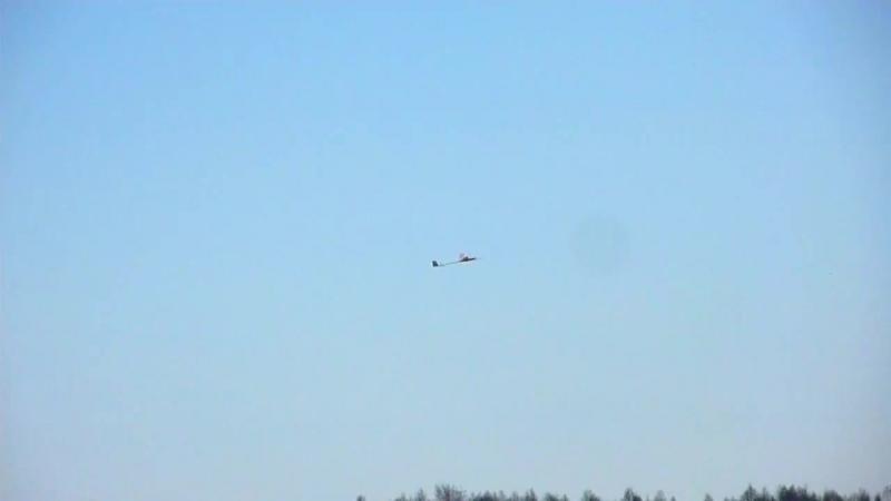Свободнолетающие авиамодели Полёты в Порошино