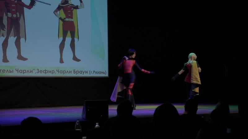 DC Comics Стефани Браун Тим Дрейк косбенд Ангелы Чарли Зефир Чарли Браун г Рязань ANI SHINAI 2018