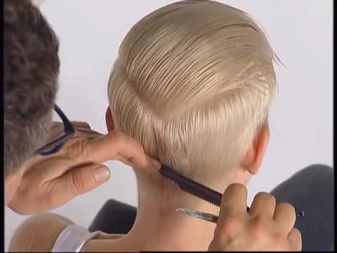 ABC Cutting hair the Sassoon Way Vidal Sassoon part3