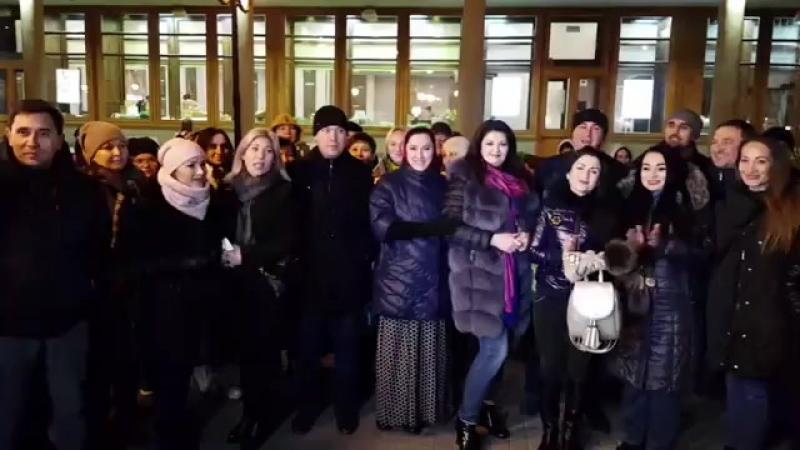 Татар җырчылары флешмобы смотреть онлайн без регистрации