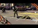 Показательные выступления разведроты ко Дню Победы