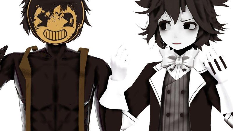 【MMD】Grump It!【Bendy Sammy】【BATIM】