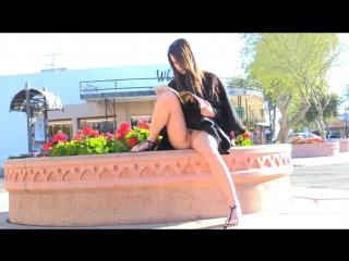 Aeris [1] - Прогулки без трусов и мастурбация в общественных местах (1)