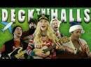 Deck The Halls - Walk off the Earth 40,000 Feet In The Air!