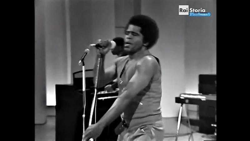 James Brown - Sex Machine (Italian TV Show 1971)