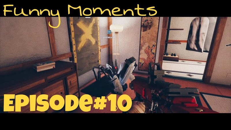 Rainbow Six Siege (Fails and Funny Moments) Episode 10 - Hidden Montagne