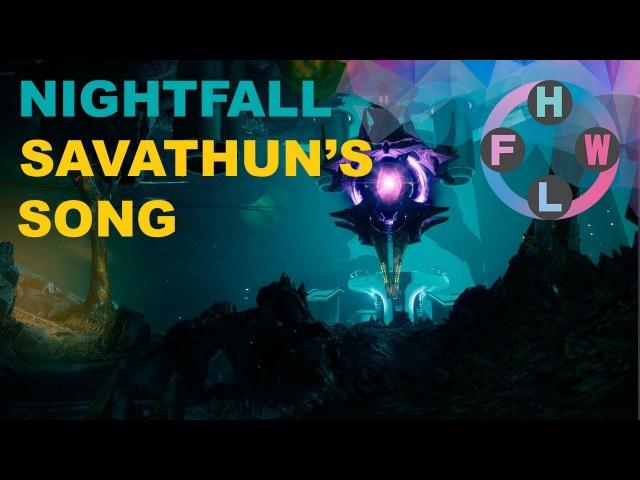 Destiny 2 - Two guys, one Nightfall: Savathun's Song