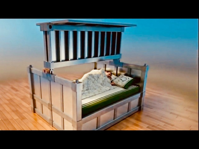 Earthquake Proof Bed - Sleep In Safety - Survival Prepper's Dream