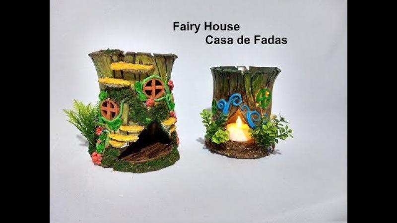 DIY Fairy House Casa de Fadas versão II