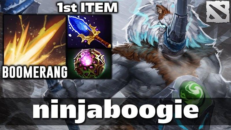 Nb Magnus Boomerang Shockwave [1st Item Aghanim's] Dota 2