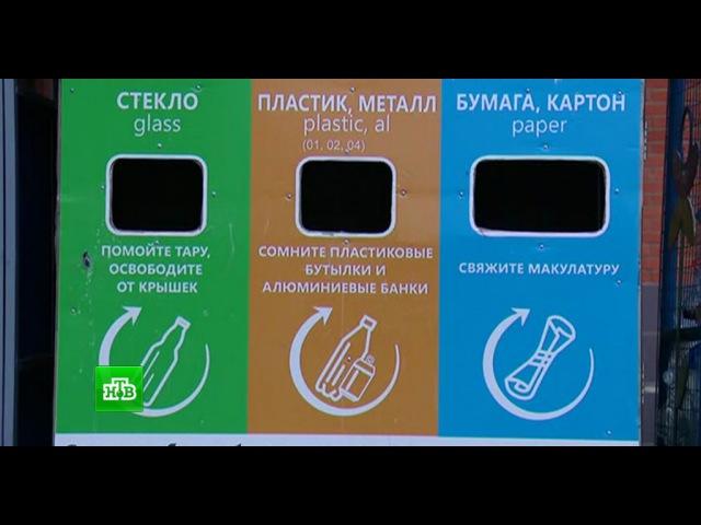 СМИ узнали о разработке дифференцированной платы для раздельного сбора мусора