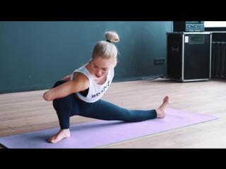 Как сесть на поперечный шпагат за 10 минут в день [Workout - Будь в форме].mp4