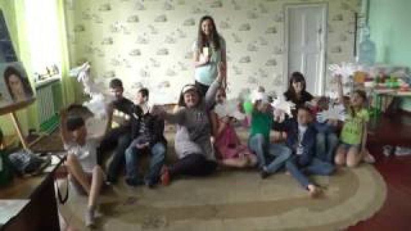 Голуби из ладошек - Арт Терапія -мастер класс для детей