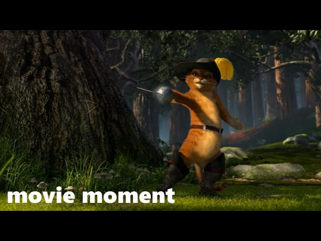 Шрек 2 2004 Кот в сапогах 5 11 movie moment