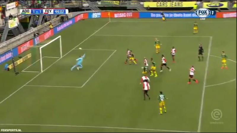 Tiki-taka in Den Haag ADO speelt Feyenoord weg en maakt wereldgoal