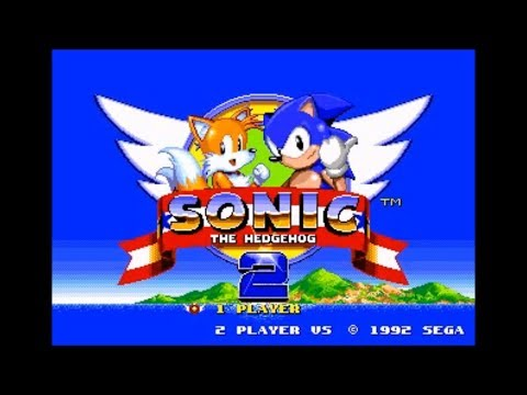 Sonic 2 Recreation Demo (Genesis) - Walkthrough