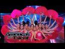 Jasmine Flowers Dance Academy Performs Visual Fan Dance - Americas Got Talent 2014