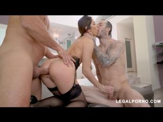 [LegalPorno] French Slut Clea Gaultier Takes Two Cocks [секс, ми