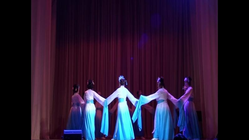Китайский танец театр танца ЯСЕН СВЕИ и Хафт пайхар группа Ханума