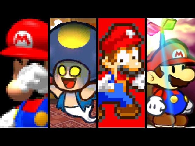 Super Mario Evolution of BAD ENDINGS 1996-2016 (N64 to Wii U)