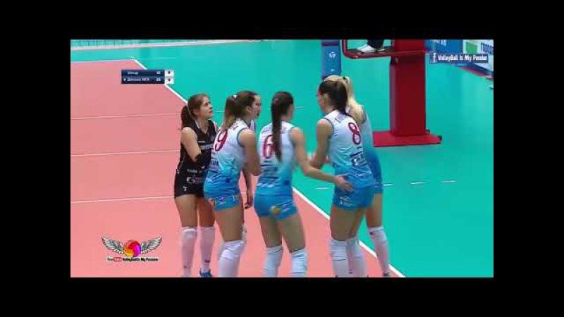 [HD] Dynamo-Metar vs Dynamo Moscow |16-12-2017 | Russian Superleague Womens Volleyball 2017/2018